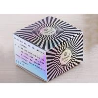 China Hard Paper Cosmetic Packaging Boxes Plastic Diamond Surface Decoration on sale