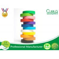 Kraft Packaging Tape / Colored Masking Tape for Fun DIY Arts Paint Manufactures