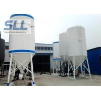 High Efficiency Cement Storage Silo Dry Powder Mortar Storage Tank 3 - 10t Weight Manufactures