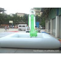 Quality 0.9mm PVC Tarpaulin Summer Inflatable Blow Up Swimming Pools For Swim / Shower for sale