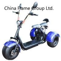 China 3 Wheel Harley Scooter with 60V/20ah/30ah lithium battery ,F/R suspension on sale