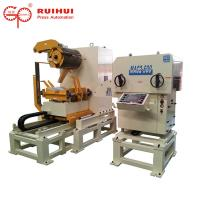 China Servo Straightener Decoiler Steel Coil Handling Equipment For Metal Sheet on sale