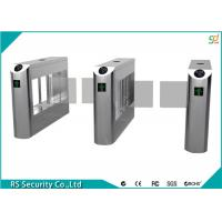 High Security Flexible Smart Supermarket Swing Barrier Gate School IR Sensor Turnstile Manufactures