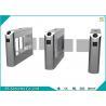 Buy cheap High Security Flexible Smart Supermarket Swing Barrier Gate School IR Sensor Turnstile from wholesalers