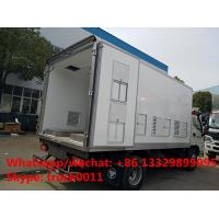 Quality 2017s new FOTON 4*2 LHD day old chick transported truck for sale, best price China brand baby chick van truck for sale for sale
