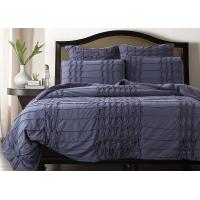 Handmade Solid King Size Down Comforter Soft Comfortable With Logo Customized Manufactures