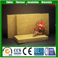 China 98% Water Repellent Rock Wool Insulation Sliver on sale