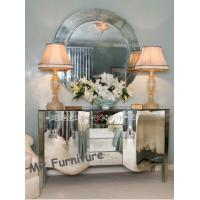 Venetian Style Mirrored Cabinet Table with Mirror Furniture Set Manufactures