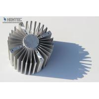 6060 6061 Aluminum Heatsink Extrusion Profiles Punching Machines ROHS / SGS Manufactures