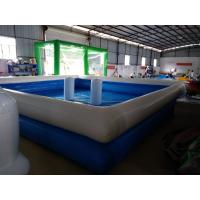 Quality Attractive 0.9MM PVC Tarpaulin Inflatable Swimming Pool For Outdoor 1 Year for sale