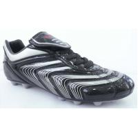 black/silver donmax brand  football shoes,stylish soccer boots,European Cup men