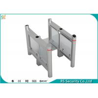 Swing Gate Turnstile Security Systems Card Reading Traffic Barrier Manufactures