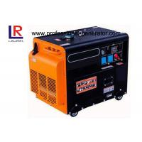 4 Stroke Electric Start 5kw Diesel Power Generators With AVR , Low Oil Alarm System Air Cooled Manufactures