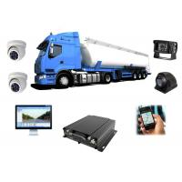 3G WIFI HDD Mobile DVR 1080P , Car DVR With GPS Tracking For Truck Manufactures