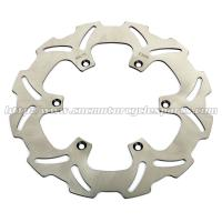 Buy cheap Front Left Wave Motorcycle Brake Disc Disk , Light Weight Braking Wavy Discs from wholesalers