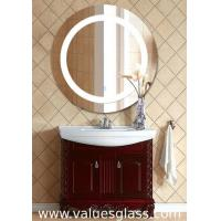 Round Shaped LED Bathroom Mirrors Fashion Appearance With Anti Corrosion Function Manufactures