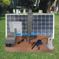 China 210W Deep Well / Livestock Solar Water Pump for Irrigation , JS3-1.8-80 on sale