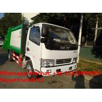 2017s best seller-dongfeng LHD/RHD 4tons compression garbage truck for sale, Factory customized refuse garbage truck Manufactures