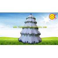 Advertising Holiday Inflatables Christmas Tree , Festival  Spruce Tree Decorations Manufactures