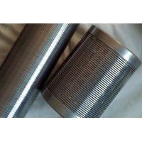Wedge Wire Screen Tube / johnson screen pipe / spiral screen pipe / dewatering well screen / v wire strainer pipe /filte Manufactures