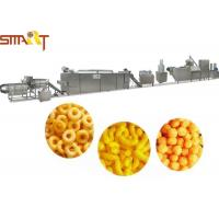 Puff Snack Food Making Machine SS Material Snack Food Production Line Manufactures