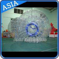 Safety 1.0mm TPU Clear Inflatable Zorbing Grass Zorb Ball In Stock for sale