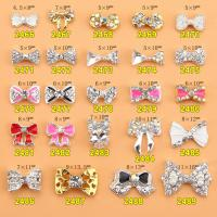 Hot NEW Wholesale Alloy Jewelry 3D Nail Art Jewelry Nail rhinestones Sticker Supplier Number ML2466-2489 Manufactures