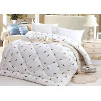 Warm Alternative Down Comforter , Machine Quilting Feather Down Comforter Manufactures