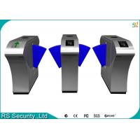 Automatic Retractable Barrier Gate Turnstile, Mifare Flap Barrier Gate Turnstiles Manufactures