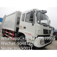 dongfeng tianjin 10cbm-12cbm garbage compactor truck for sale,best price dongfeng 4*2 LHD refuse garbage truck for sale Manufactures
