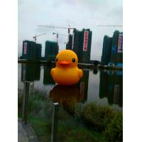 Giant Custom Inflatable Products , 9 - 26m Water Floating Inflatable Yellow Duck Manufactures