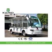 14 Seater Electric Sightseeing Bus With Curtis Controller / MP3 Player / Speaker Manufactures