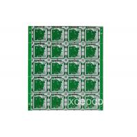 24G High Frequency Double Sided PCB Board Multilayer Green Solder Mask Black Silk Screen Manufactures