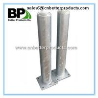 China removable steel domed cap steel guard bollards on sale
