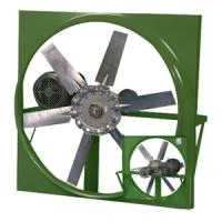 China Squre shutters industrial exhaust fans on sale