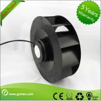 Low Noise Brushless Motor EC Centrifugal Fans With Speed Control 250mm Manufactures