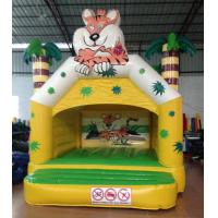 Buy cheap Small Inflatable Tiger Bounce Forest Jungle Tiger Modeling Inflatable Jump House For Children Under 8 Years from wholesalers