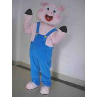 Cute Advertising Cartoon PVC Inflatable Pig Costume for Adults , Blow Up Costumes Manufactures