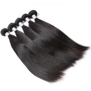 Grade 7A Natural Remy Straight Hair Extension, 100% Virgin Peruvian Human Hair Weave Manufactures