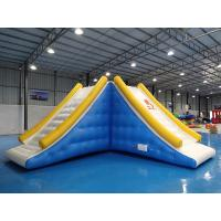 Exciting Inflatable Water Park Games Inflatable Slide Tower For Sale Manufactures