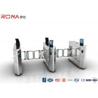Face Recognition Speed Gate Turnstile Access Control System 30 Persons / Min Manufactures