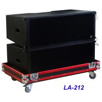 Buy cheap LA-212 Line Array Speaker 3 way 1560W High Power Dynamic , Clarity for Big Concert , Show and Church from wholesalers