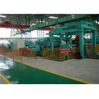 Heavy Duty Steel Sheet Slitting Machine 360 KW Strong Power Double Roller Pinching Feeding Manufactures