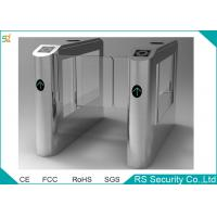 Pedestrian Retractable Supermarket Swing Gate High Security Barrier Turnstile Manufactures