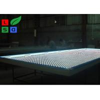 Clip Frame LED Fabric Light Box Single Sided DC 12V With LED Folding Strip Panel Light Manufactures