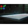 Clip Frame LED Fabric Light Box Single Sided DC 12V With LED Folding Strip Panel Light Manufactures