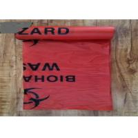 Heat Sealing Medical Garbage Bags PE Material Customised Printed Recyclable Manufactures