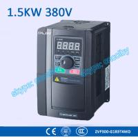 1.5kw 380V CNC Variable-Frequency Drive motor AC drive AC-DC-AC 50Hz/60Hz frequency converter transducer Three Phase VFD Manufactures