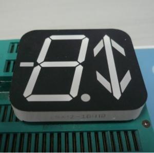 Custom 7 segment LED Display Ultra Red 40 x 46 x 8 mm Dimensions Manufactures