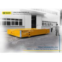 50 Ton Die Transfer Cart Trackless Material Transportation Polyurethane Coated Wheel Manufactures